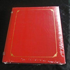 Creative Memories Red 8 x 10 Open Spine Album